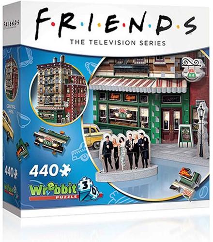 Wrebbit 3D Puzzel - Friends Central Perk (425 stukjes)
