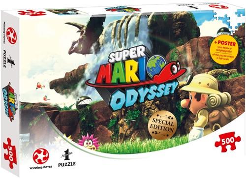 Super Mario Odyssey Fossil Falls Puzzel (500 stukjes)