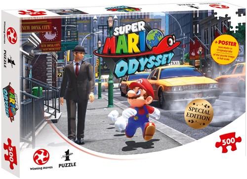 Super Mario Odyssey New Donk City Puzzel (500 stukjes)