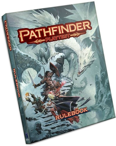 Pathfinder 2.0 Playtest Rulebook (Softcover)