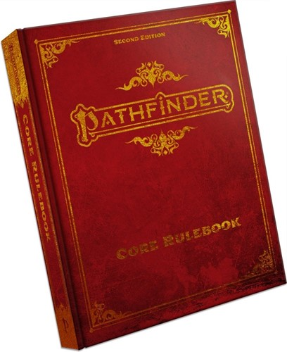 Pathfinder Core Rulebook 2nd Edition Special Edition