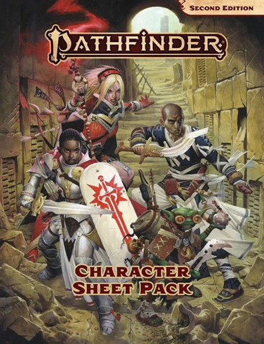 Pathfinder Character Sheet Pack 2nd Edition