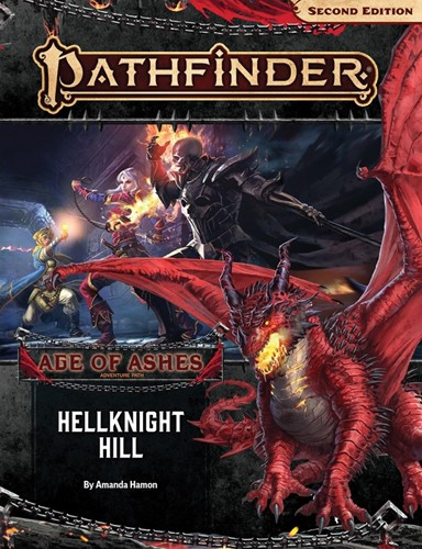 Pathfinder Hellknight Hill Age of Ashes 1/6 2nd Edition