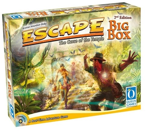 Escape The Curse of the Temple - Big Box (2nd edition)