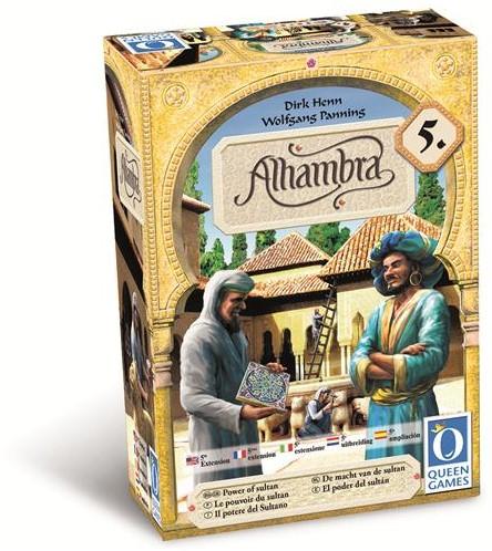 Alhambra Uitbreiding 5 - Macht van de Sultan-1