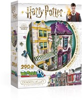 Wrebbit 3D Puzzel - Harry Potter Madam Malkin's & Florean Fortescue's Ice Cream