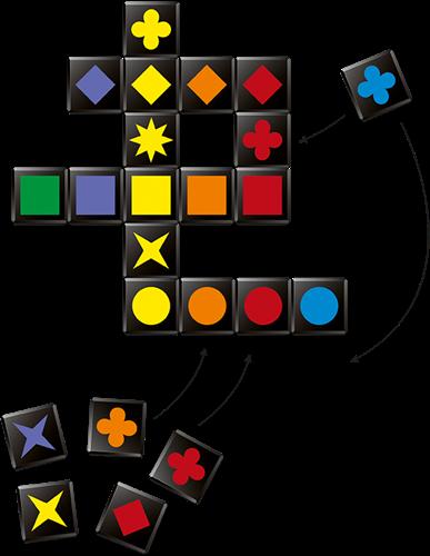 Qwirkle Cubes-3