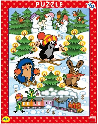 Molletje - Sneeuwpret Puzzel (40 stukjes)
