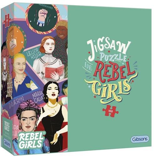 Rebel Girls Puzzel (100 stukjes)