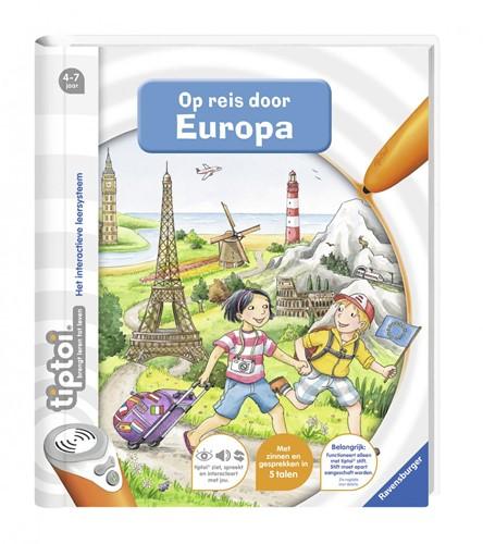 Tiptoi - Op Reis Door Europa Boek