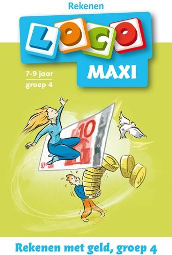Loco Maxi Boekje - Rekenen met Geld - Groep 4 (licht beschadigd)