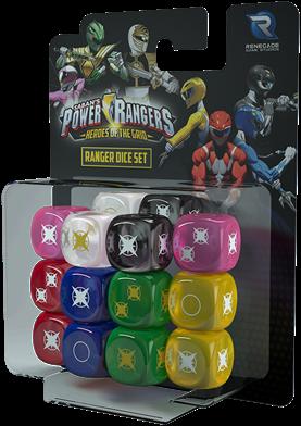 Power Rangers - Heroes of the Grid Ranger Dice Set
