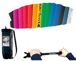 Vlieger - Rhombus Rainbow 1.6 + Bar
