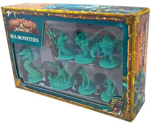 Rum and Bones - Second Tide - Sea Monsters