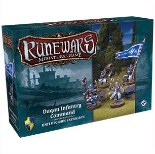 RuneWars - Daqan Infantry Command Unit