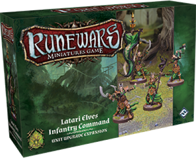 RuneWars - Infantry Command Unit Upgrade