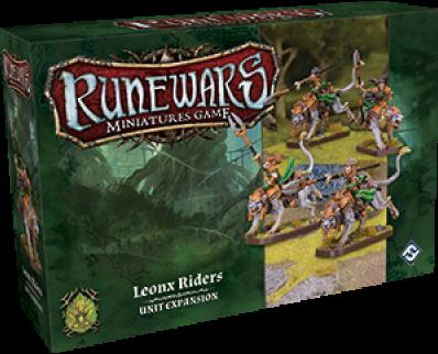 RuneWars - Leonx Riders Unit