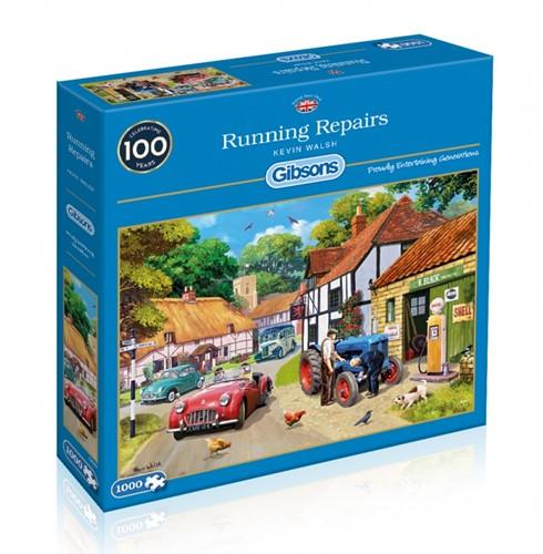 Running Repairs Puzzel (1000 stukjes) (Open geweest)