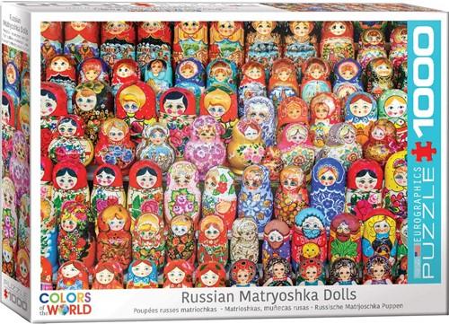 Russian Matryoshkas Dolls Puzzel (1000 stukjes)