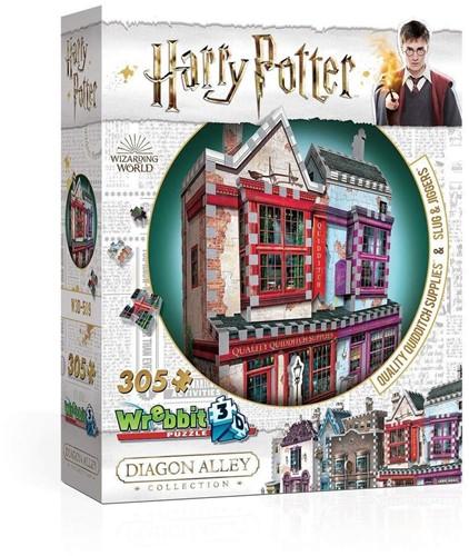 Wrebbit 3D Puzzel - Harry Potter Quality Quidditch Supplies & Slug & Jiggers