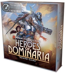 Magic The Gathering - Heroes of Dominaria Board Game Premium Edition