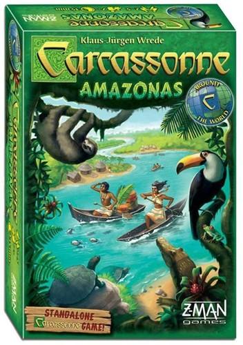 Carcassonne - Amazonas (Engels)