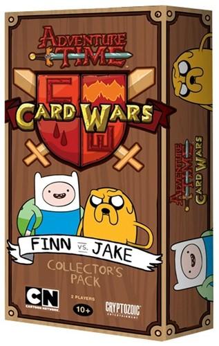 Adventure Time Card Wars - Finn vs. Jake