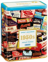 1950s Sweet Memories Gift Tin Puzzel (500 stukjes)