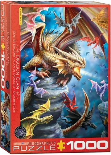 Dragon Clan - Ann Stokes Puzzel (1000 stukjes)