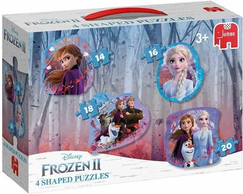 Frozen 2 – 4 in 1 Vormen Puzzels