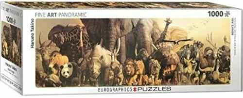 Noah's Ark - Haruo Takino Panorama Puzzel (1000 stukjes)
