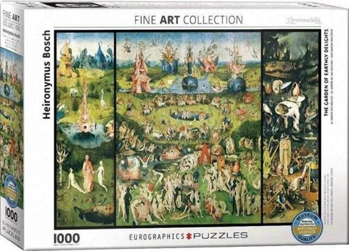 The Garden of Earthly Delights - Jheronimus Bosch Puzzel (1000 stukjes)