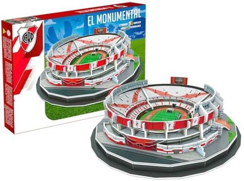 River Plate - El Monumental 3D Puzzel (99 stukjes)
