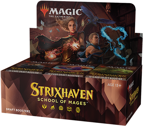 Magic The Gathering - Strixhaven School of Mages Boosterbox
