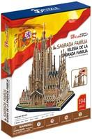 3D Puzzel - Sagrada Familia (194 stukjes)-1