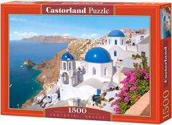 Santorini, Greece Puzzel (1500 stukjes)