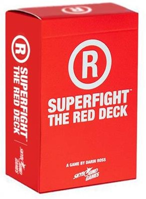 Superfight Red Adult Deck