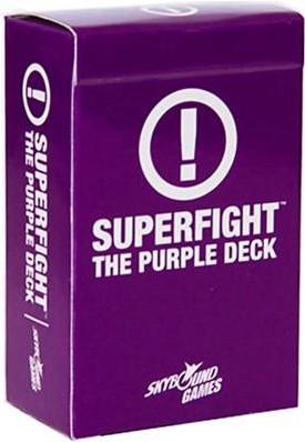 Superfight - Purple Scenarios Deck
