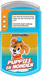 Scroll Game - Puppies & Honden