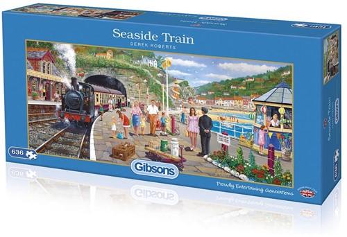 Seaside Train Puzzel (636 stukjes)