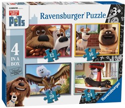 Secret Life of Pets Puzzel (4 in 1)