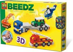 SES Beedz - Strijkkralen 3D Voertuigen