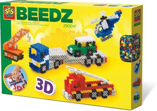 SES Beedz - Strijkkralen 3D Voertuigen-1