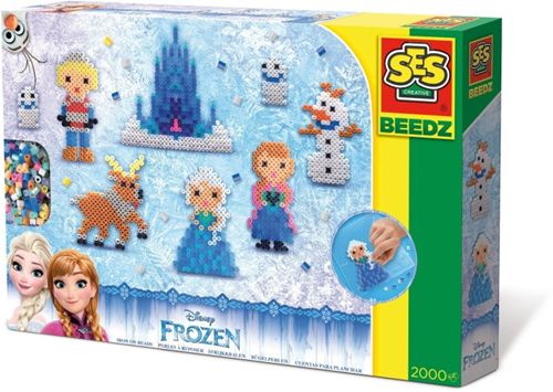 SES Beedz - Strijkkralen Frozen (2000 stuks)-1