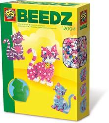 SES Beedz - Strijkkralenset Kat