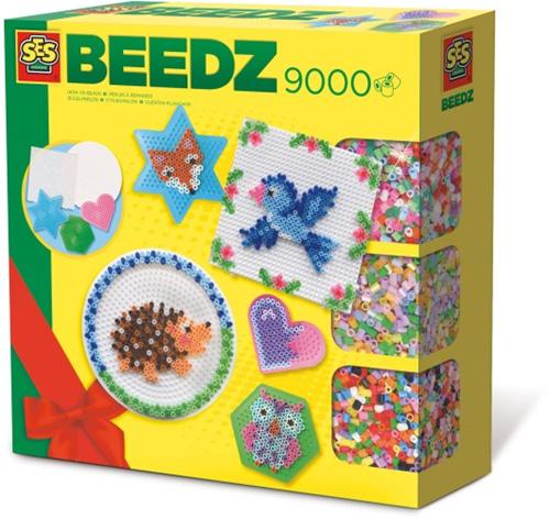 SES Beedz - Strijkkralen Megaset (9000 stuks)-1