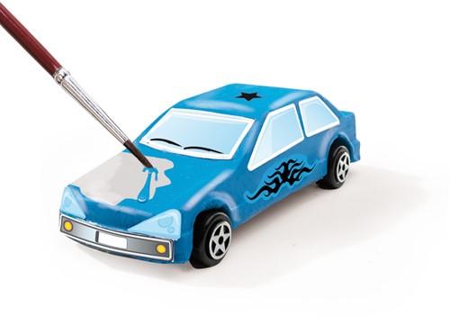 SES - Gieten en schilderen - Auto