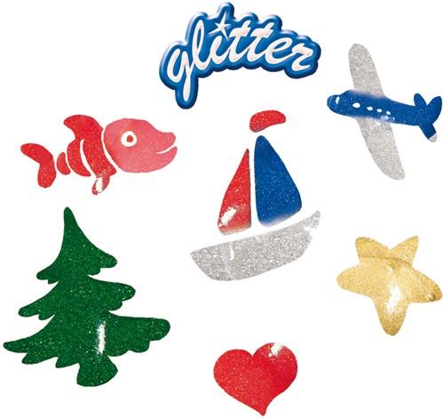 SES - Plakkaatverf Glitter