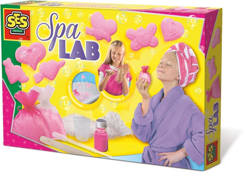 SES - Spa Lab - Bruistabletten en Badzout Maken-1