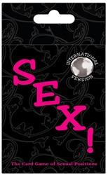 Sex! Kaartspel - Internationale Versie